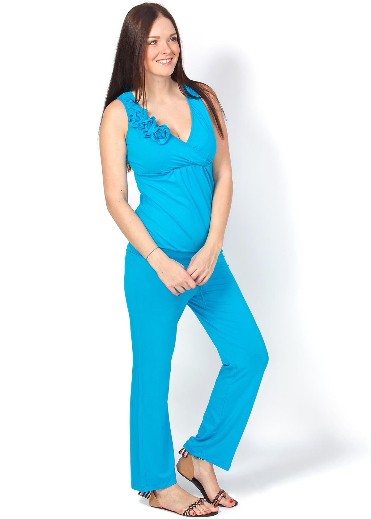 651610416549 Комбинезон КВ01 бирюза для беременных и кормящих - FunnyMummy.ru ...