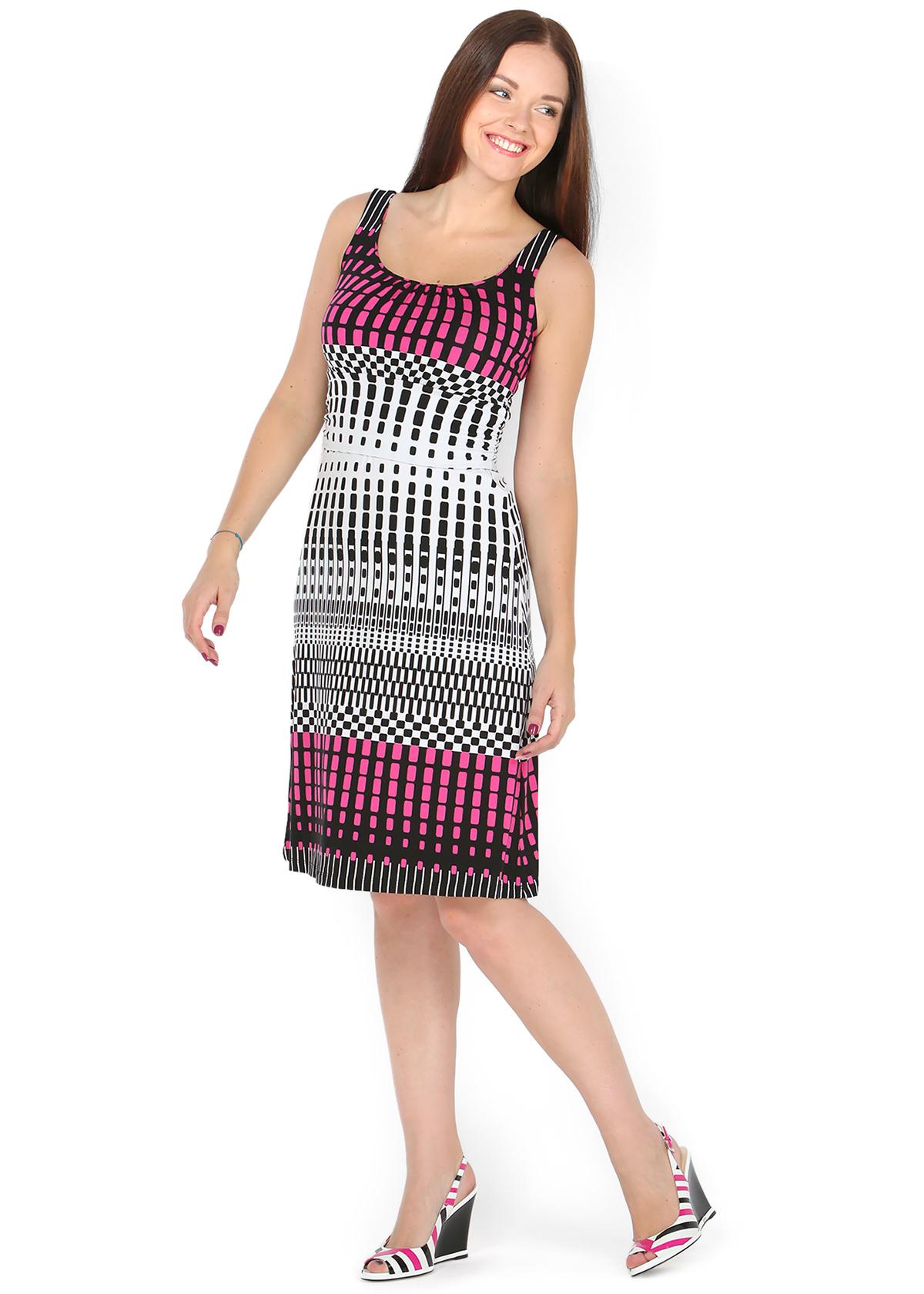 6831e0ea9546 Платье ПВ03 мелкая геометрия для беременных и кормящих - FunnyMummy ...